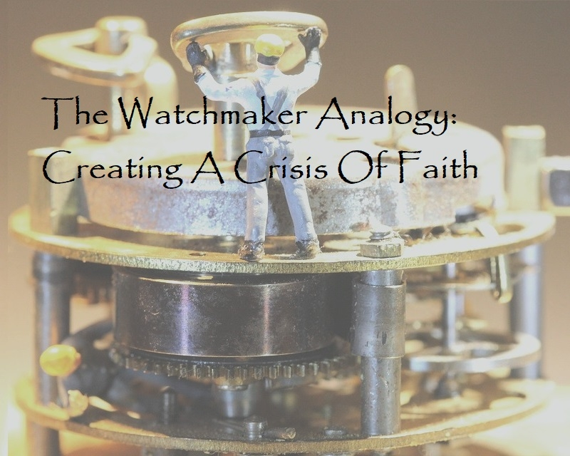 william paley watchmaker analogy